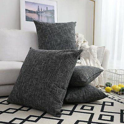 Kevin Linen Soft Solid Cushion Pillow