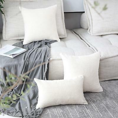 HOME BRILLIANT Soft Plush Solid Large Throw Euro Pillow