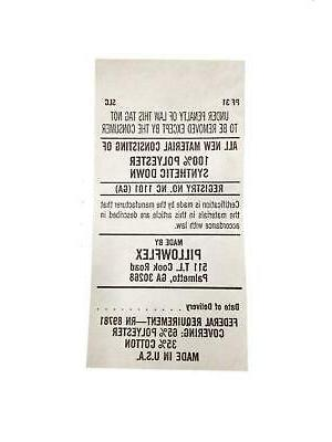 Pillowflex Synthetic Pillow 12 By Inch