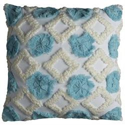 Rizzy Home T10811 20 Inch X 20 Inch Throw Pillow with Zipper