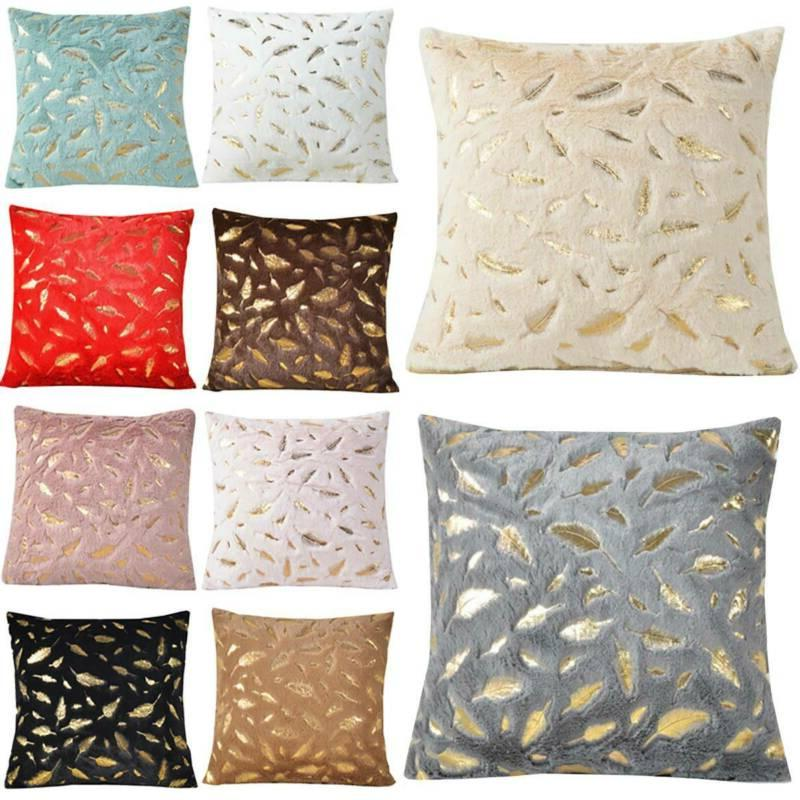 Throw Pillow with Bed Cushion Covers Soft
