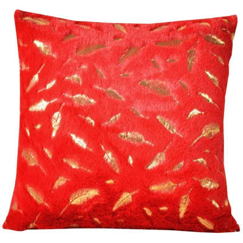 Throw Pillow Case with Printing Bed Square Soft