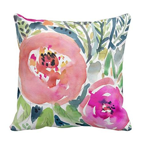 throw pillow cover colorful bohemian