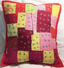 Throw Pillow Cover 100% Cotton Patchwork Cushion Cover