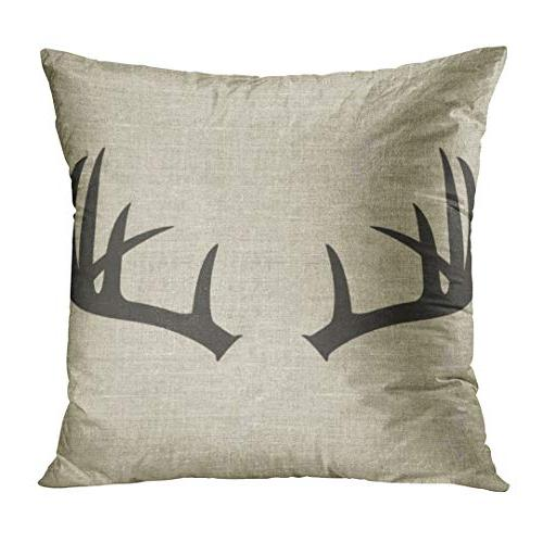 Emvency Set Throw Pillow Covers Rustic Head Popular Vintage Wood Pillow Home Decor 18x18 Inches Pillowcases
