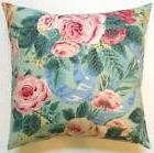 Throw Pillow Sham/Cover for 18x18 Insert P. Kauffman Shabby