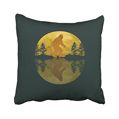 Pakaku Throw Pillows Covers for Couch/Bed 16 x 16 inch,Moon