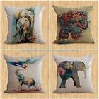 set of 4 cheap throw pillows cushion covers lucky Indian ele