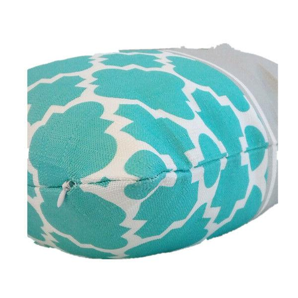 Turquoise Premium PILLOW Sofa Couch Vintage 18x18""
