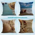 US SELLER, 4pcs decorative throw pillow cushion covers natur