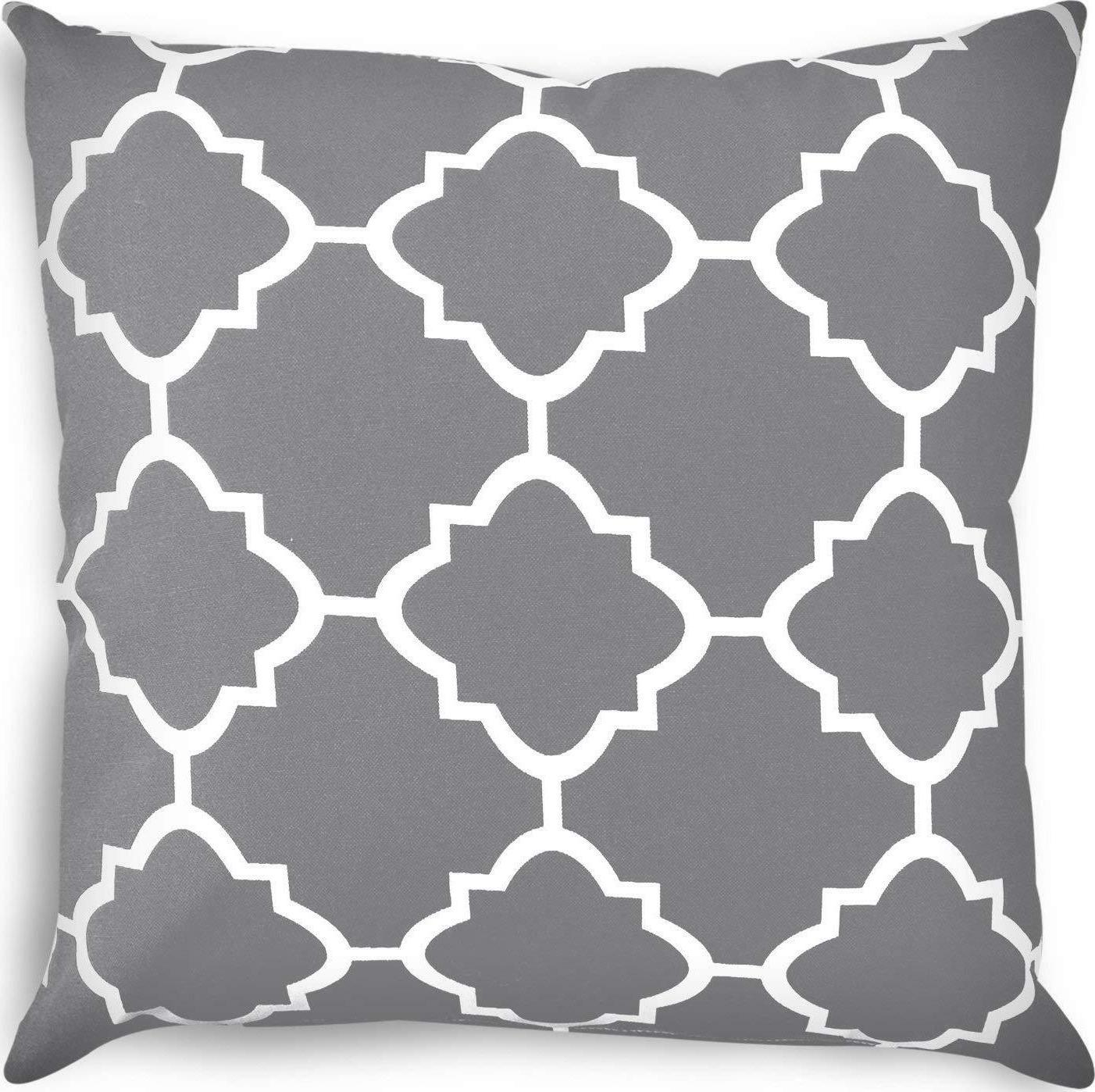 utopia bedding decorative square 18 x 18