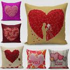Valentine's DayThrow Pillow Case Gift Sweat-heart Square Cus