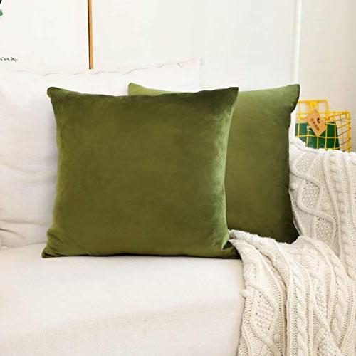 velvet accent throw pillow covers