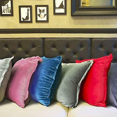 Velvet Pillows Soft Fluffy Polyester