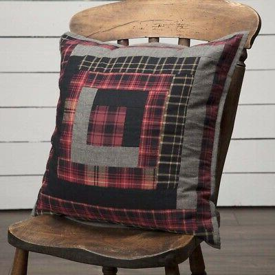 vhc brands cumberland patchwork pillow