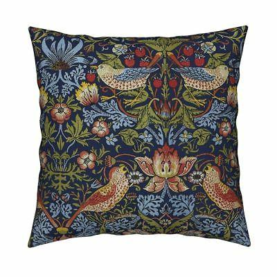 victorian arts and crafts throw pillow cover