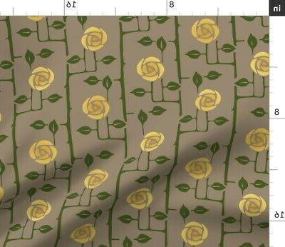 Victorian Roses Crafts Throw w Optional by