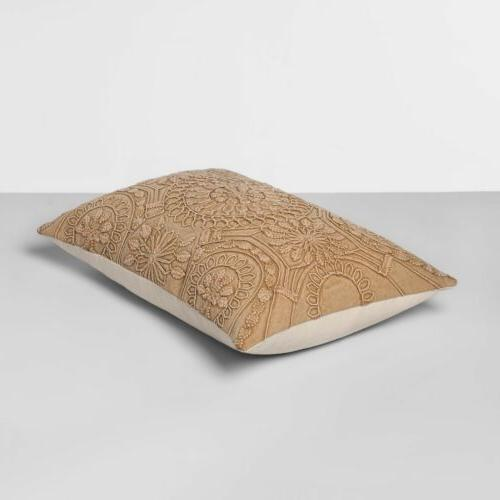 Washed Pillow Gold