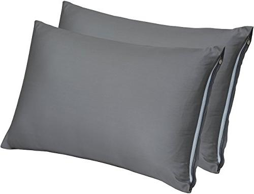 zippered bamboo pillow cases