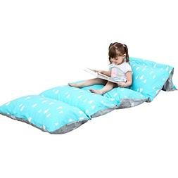 DrCosy Lounger Cushion Cover, Floor Pillow Case for Kids Adu