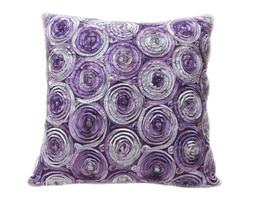 Lovely Two Tone 3d Bouquet of Violet Thai Silk  1 Throw Pill