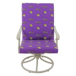 College Covers LSUCC LSU Tigers 2pc Chair Cushion