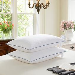 WENERSI White Goose Feather and Down Pillows for Sleeping100
