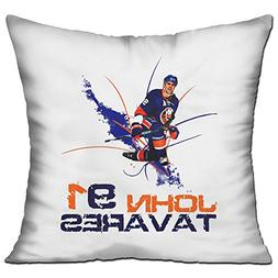 Merry Christmas #91 John Tavares Decorative Throw Pillow Cov