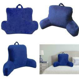 Micro Mink Plush Backrest Lounger Pillow Bed Rest Pillows Do