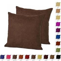 MoonRest - Set of 2 – Microfiber Decorative Pillow, Fully