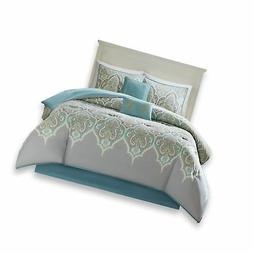 Comfort Spaces Mona Cotton printed Comforter Set - 6 Piece -