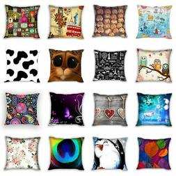 multi choice square throw pillow case decorative