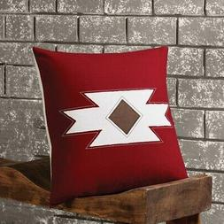 VHC Brands Navajo Native Pillow W/Down Fill 18x18