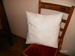 "New 17"" X 17"" Pillow insert Bedding Sheets Covers  Made in U"
