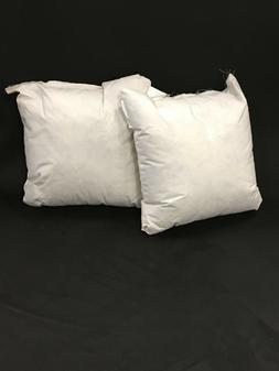 NEW  22 x 22 Square Down Blend Pillow Forms Inserts  MADE IN