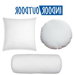 new round euro pillow form insert all
