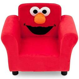 New Sturdy Table Elmo Kids Upholstered Sofa Wood Chair For T