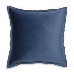 NEW Pillow Perfect Velvet Flange Azure Blue 18-inch Throw Pi