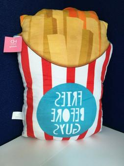 Novelty French Fry Throw Pillow