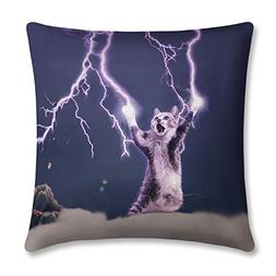 Fivebop Novelty Throw Pillow Cover,Home Decorative 3D Print