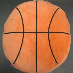 NWT Basketball Sports 16 Inch Novelty Plush Throw Pillow