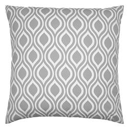 JinStyles Ogee Cotton Canvas Decorative Throw Pillow Cover
