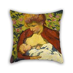 The Oil Painting Giovanni Giacometti - Young Mother Throw Pi