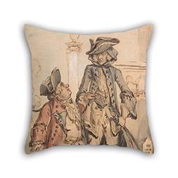 Uloveme Oil Painting Paul Sandby - Caricature Of George Bubb