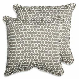 Pillow Perfect Outdoor Seeing Spots Sterling Throw Pillow, 1