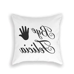 Personalized Throw Pillow Case Funny Bye Felicia Friday Get