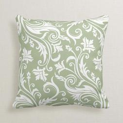 Personalized Sage Green Vintage <font><b>Damask</b></font> P