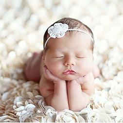 PePeng Newborn Photography Props, Use Soft 3D Rose Flower Ba