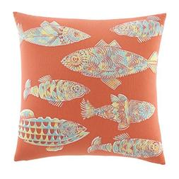 Tommy Bahama 'Batic Fish' Pillow, Size One Size - Coral