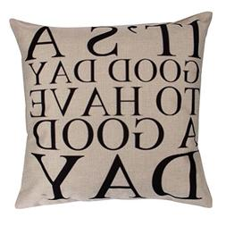 Iuhan Fashion Pillow Case Sofa Waist Throw Cushion Cover Hom